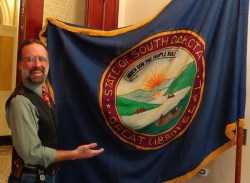 CAH with original SD flag, 2016