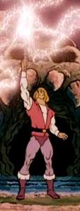 He-Man pre-transformation