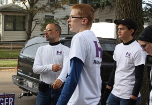Careful, young campaigners: SB 134 still says you can't wear your campaign shirts to school.