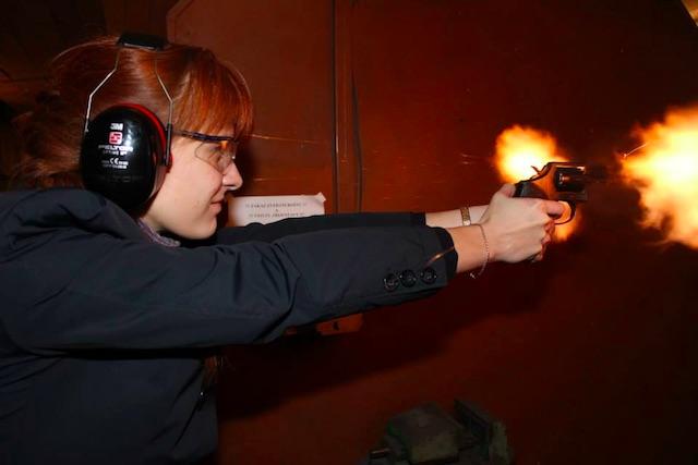 Butina, target practice in Czech Republic, 2013