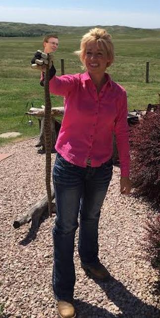 Shantel Krebs nabs rattler Dusty Johnson