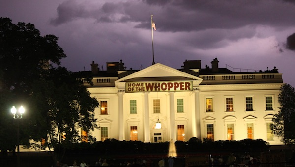 Trump White House—Home of the Whopper