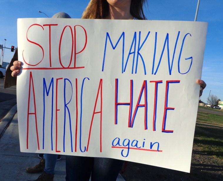 Stop Making American Hate Again.