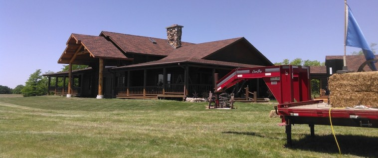 Sutton Ranch house, Gregory County.