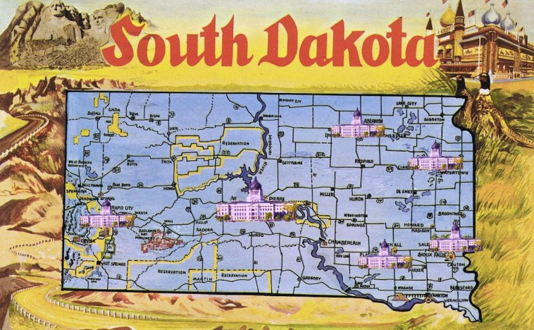 South Dakota: Land of Infinite Capitols? OK, how about just six?