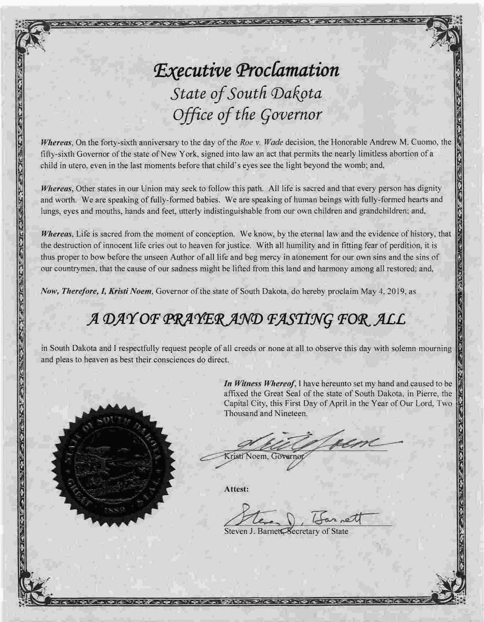 422d14903a1 Pastor Kristi Tells Everyone to Pray and Fast on May 4 – Dakota Free ...