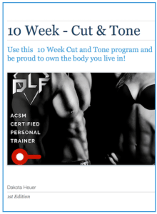 10 Week - Cut and Tone