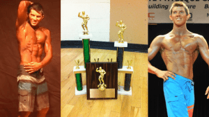 Posing and trophies