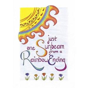 """Rainbow End"" by Dakota Midnyght Art"