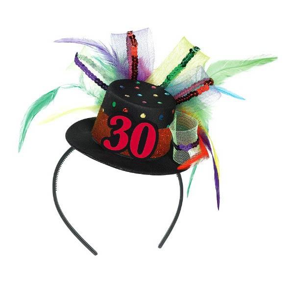 30th Birthday Hat Headband