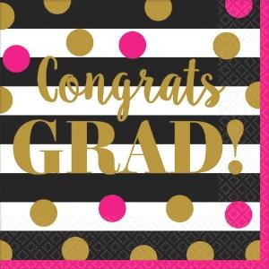 Gold Confetti Grad