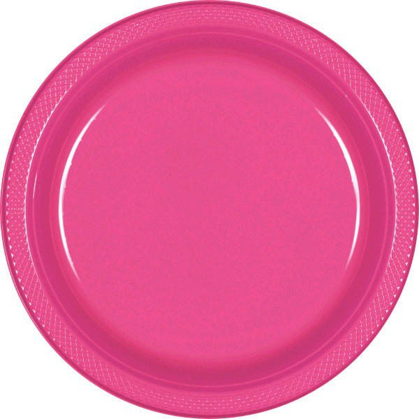 Bright Pink  sc 1 st  Dakota Party & Solid Color Tableware u2013 Dakota Party