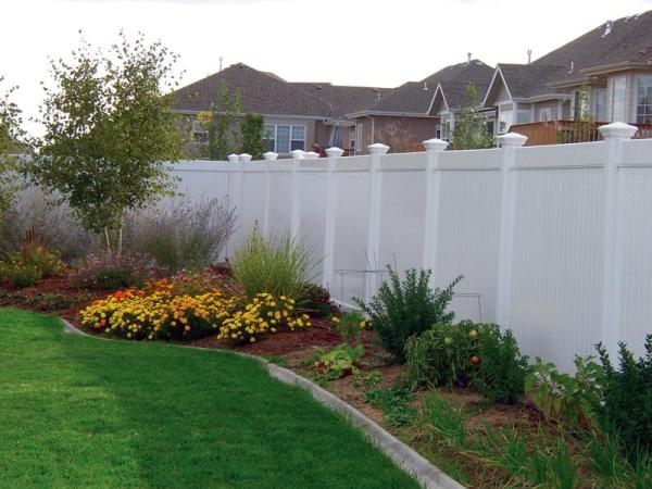 vinyl fence in st paul lakeville