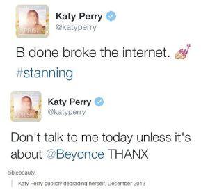 Katy Perry Tweets