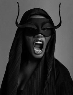 Grace Jones Mask