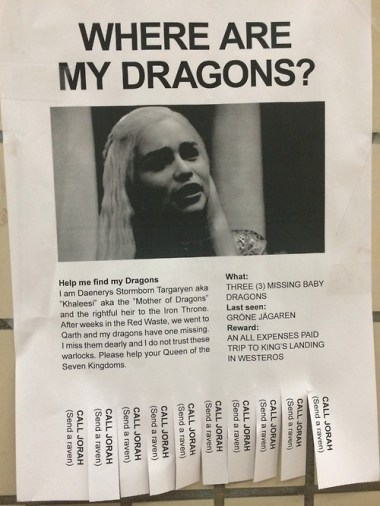 daenerys where are my dragons poster 500x667