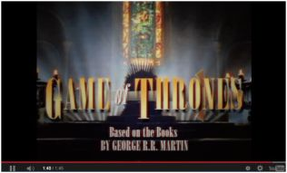 Game of Thrones: 1995 Sitcom Style Opening [Video]