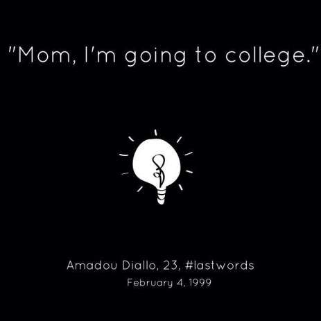 #AmadouDiallo #LastWords #NMOS14
