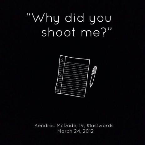 #KendrecMcDade #LastWords