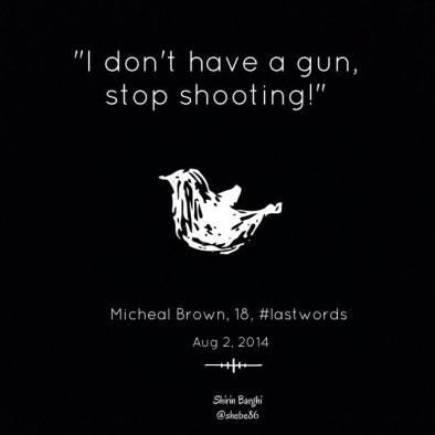 #MikeBrown #DontShootHandsUp