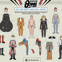 David Bowie Paper Dolls