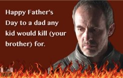 stannis father's day card
