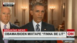 "Obama/Biden Mixtape ""Finna Be Lit"""