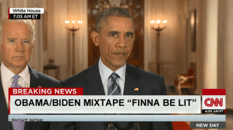 "Obama/Biden Mixtape ""Finna Be Lit"""