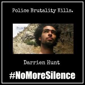 #NoMoreSilence Avatars Darrien Hunt