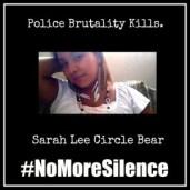 #NoMoreSilence Avatars Sarah Lee Circle Bear