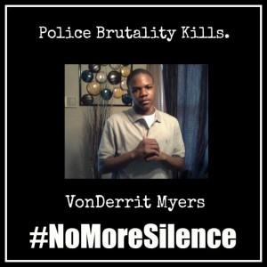 #NoMoreSilence Avatars VonDerrit Myers