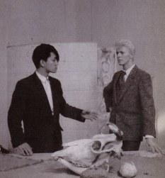 David Bowie and Ryuichi Sakamoto