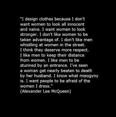 RIP: Alexander McQueen