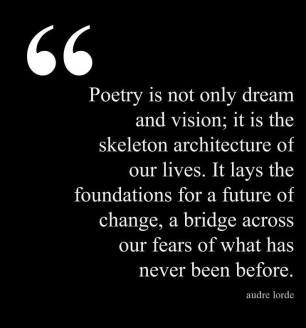 audre lorde quote bridge across our fears quote meme photo