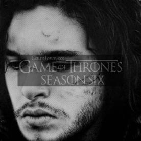 GoT Season Six Logo_Jon Snow Countdown_01