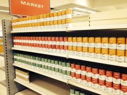 supermarket Inside High Rise Graphic Design