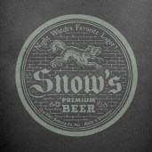 Snow's Beer Game of Thrones Hipster MicroBrew Beer Labels