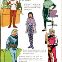 Space Age Fashions: comic book division