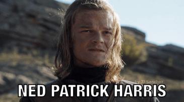 Ned Patrick Harris Meme by JJ Sanchez