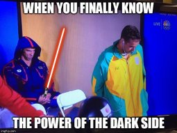 When You Finally Know the Power of the Dark Side Meme