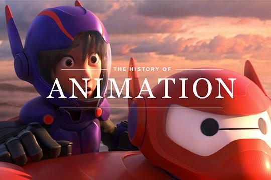 history of animation webflow
