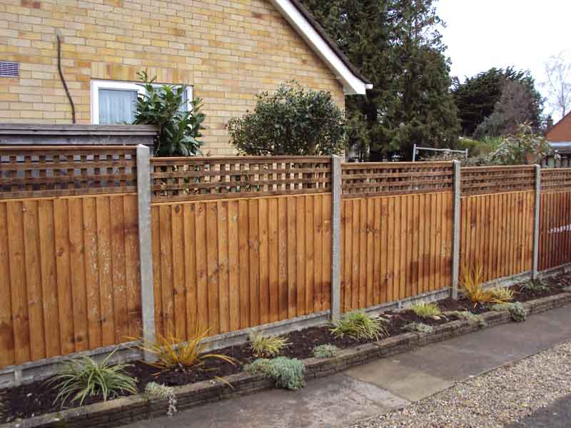 Garden Fencing Enfield Creative Scapes Fence Installer