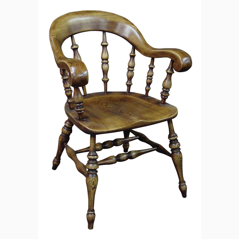vintage arm chair adirondack chairs cedar wood antique oak begere bow
