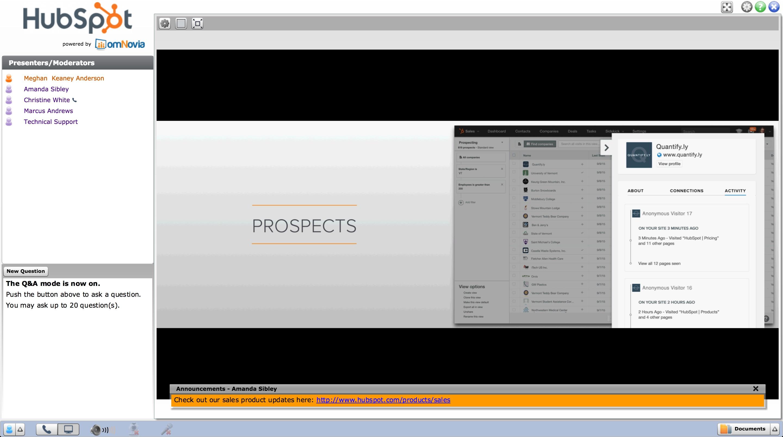 HubSpot Product Launch Webinar Promotion