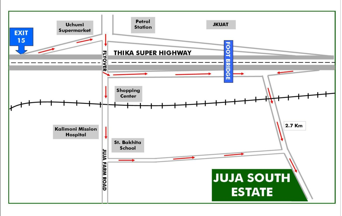 JUJA SOUTH ESTATE PLOTS FOR SALE