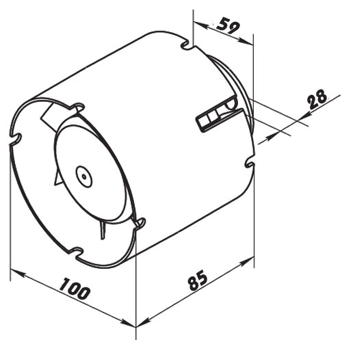 Série SD Diameter 100 mm Name Dalap
