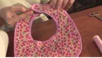 How To Sew A Baby Bib | Dalco Home Sew