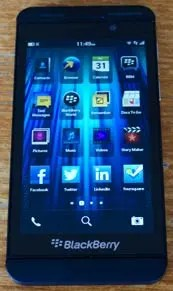 Blackberry z10 first impressions - Dale Cohen