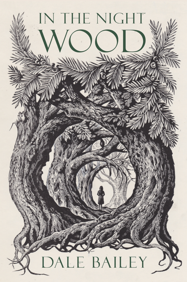 In the Night Wood by Dale Bailey, Cover