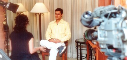 bbc Dale Bhagwagar giving an interview on Bollywood PR for BBC - Pic 2